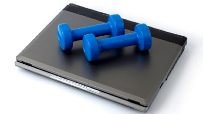 Weights On Computer 397